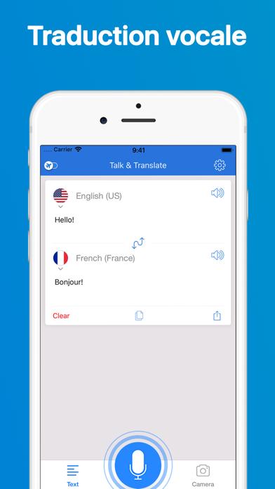 Screenshot #3 pour Talk & Translate