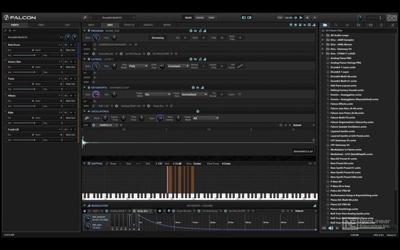 Video Course For UVI Falcon for Mac
