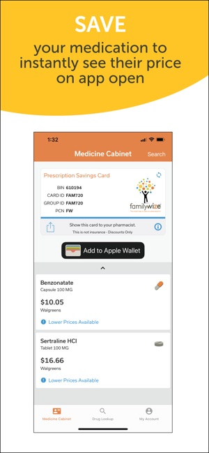 Rx Discount Card by FamilyWize on the App Store