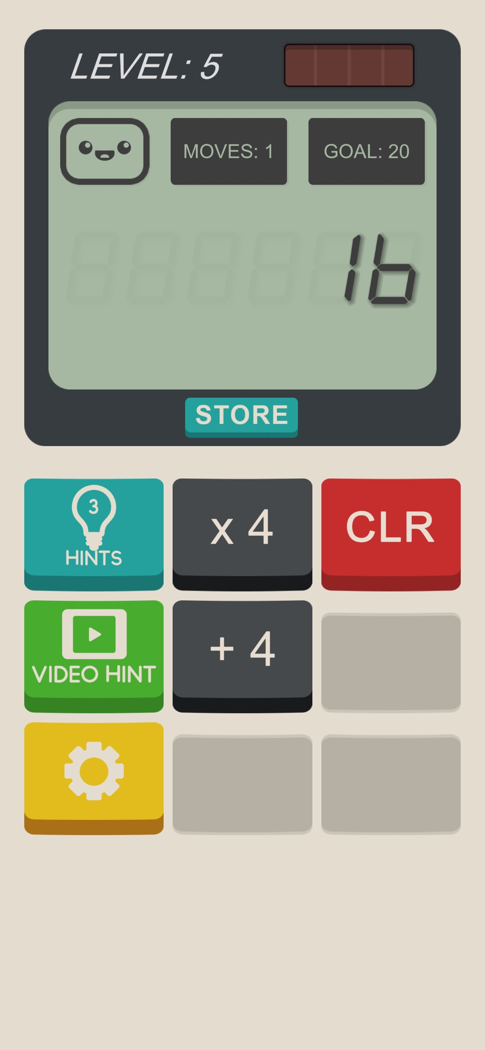 Calculator: The Game Cheat Codes