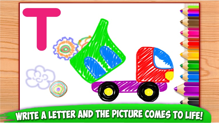 ABC Games - Drawing for Kids screenshot-4