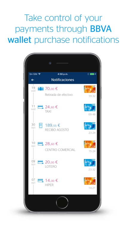 BBVA Wallet ES. Mobile Payment screenshot-2