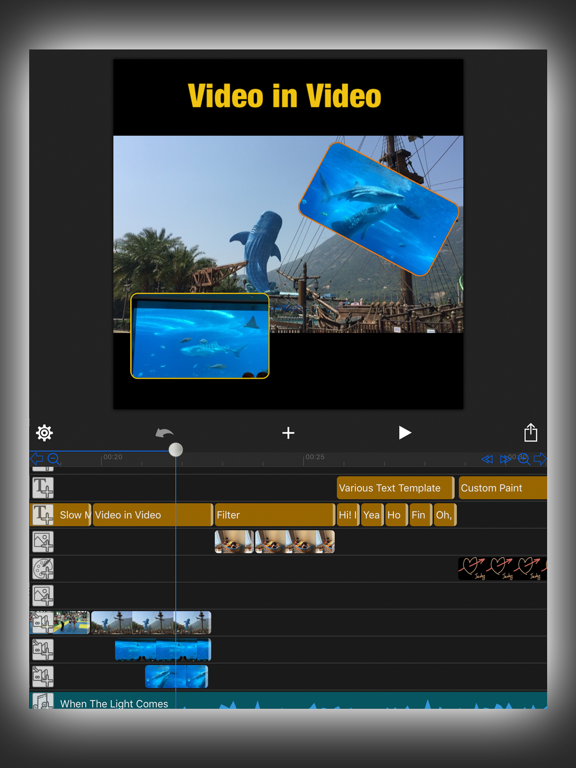 MovieSpirit - Professional Movie Maker screenshot