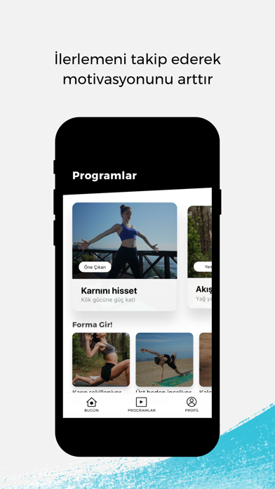HelloYoga - Egzersiz & Fitness screenshot 4