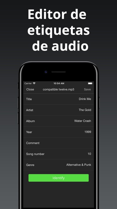 Screenshot for Evermusic: descargar música in Chile App Store