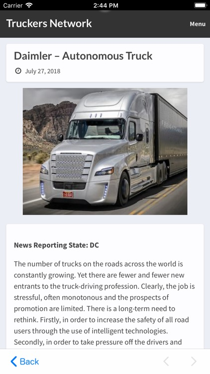 Truckers Network screenshot-4