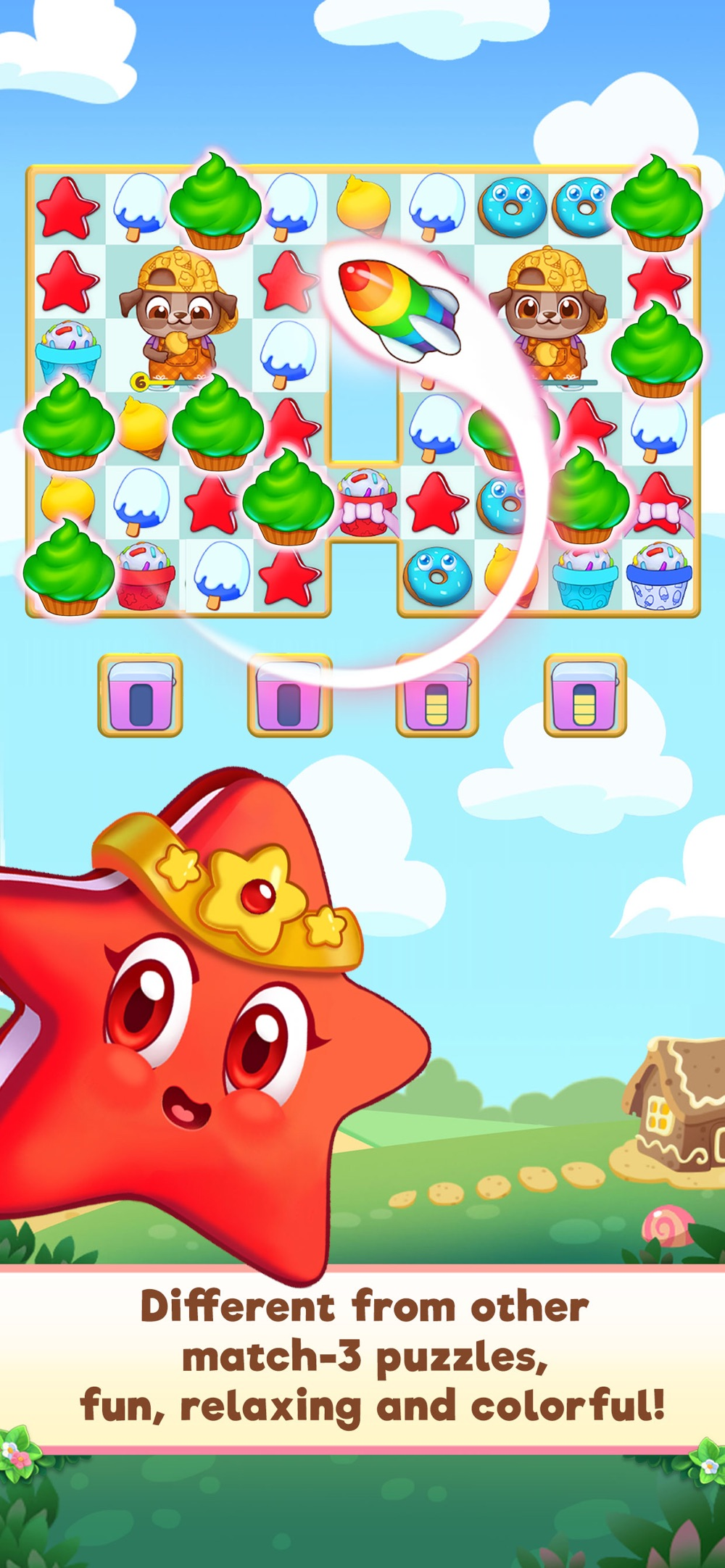 Candy Riddles: Match 3 Puzzle Cheat Codes