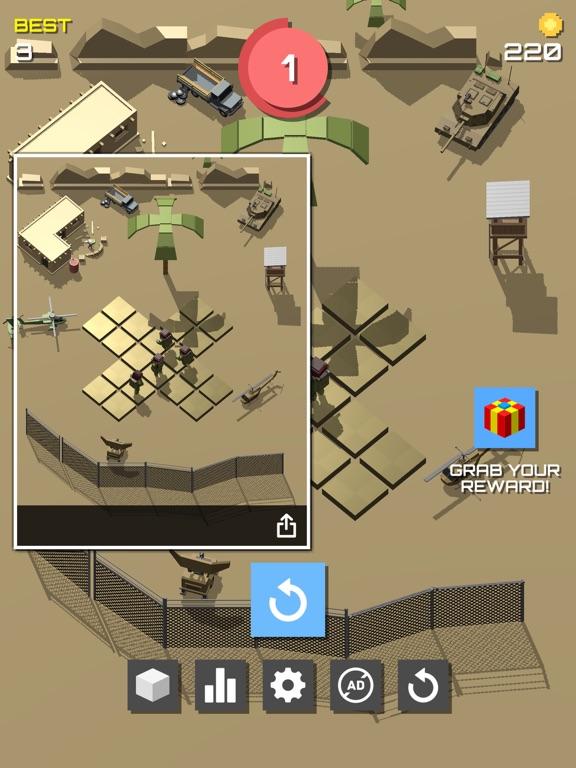 Pixel 3D - Soldier Gamesのおすすめ画像8