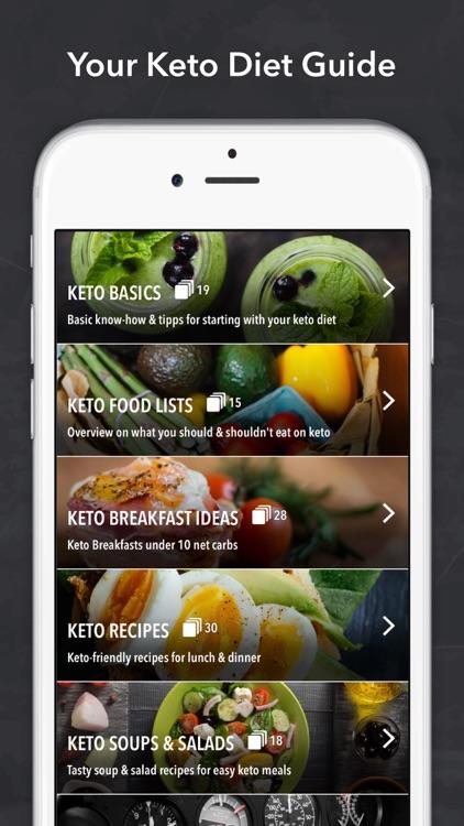 Keto Diet Recipes + Carb App screenshot-0