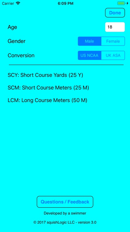Swim Converter screenshot-4