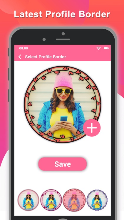 Profile Picture Border Pro