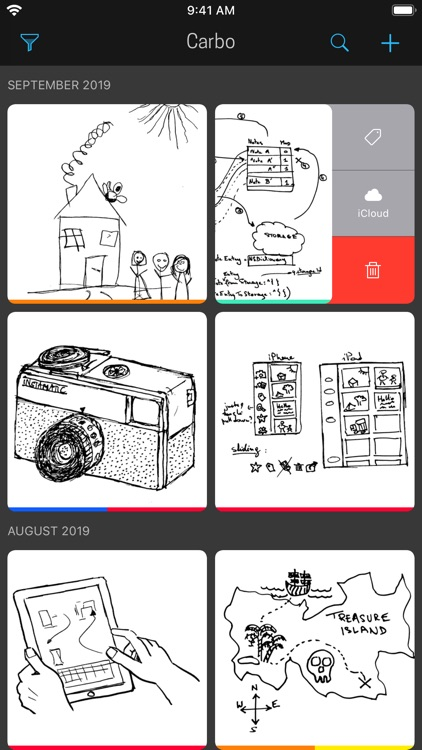 Carbo › Notes & Sketches screenshot-0