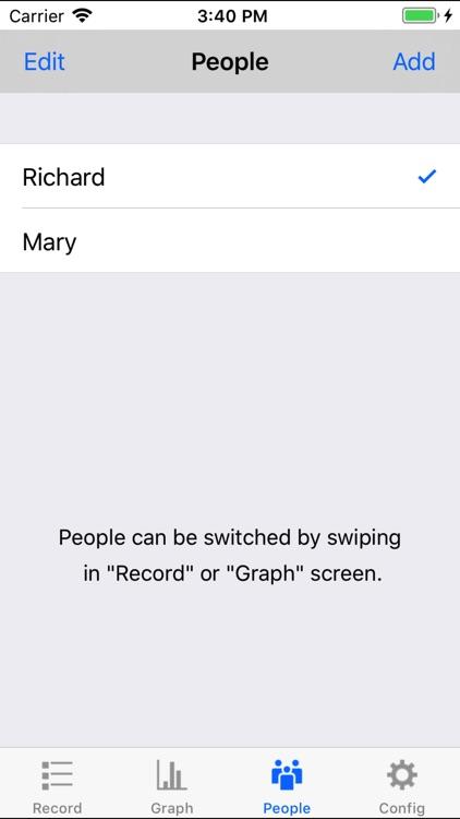 Body Temperature Recorder screenshot-4