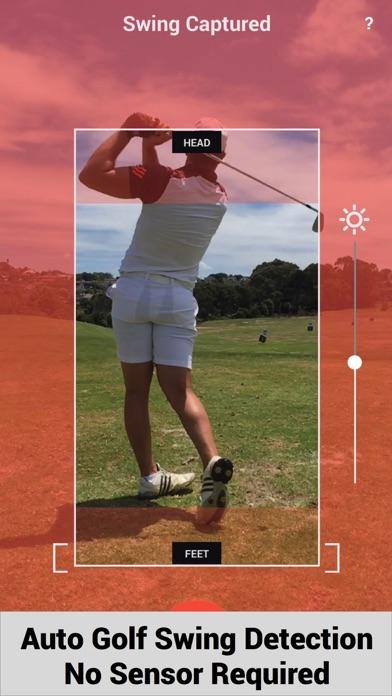 Swing Profile Golf Analyzer screenshot one