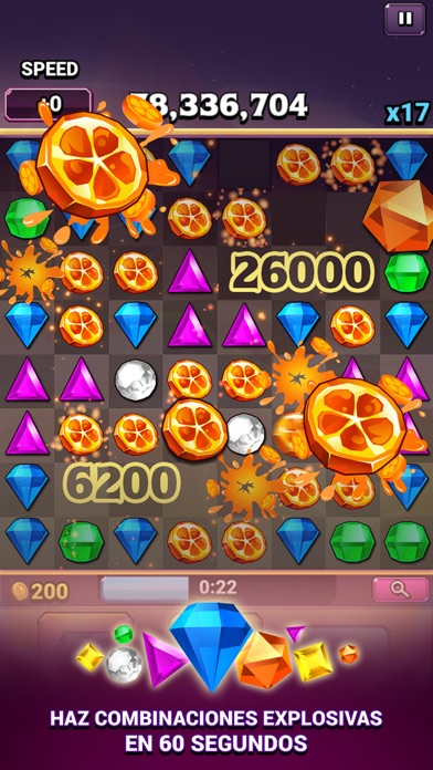 Screenshot of Bejeweled Blitz1