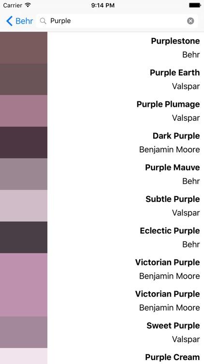 Vivid - Paint Colors
