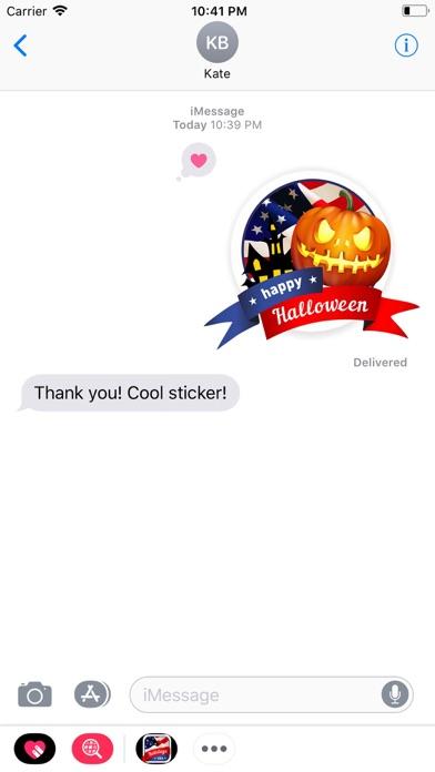 Holidays USA StickerPack screenshot 2