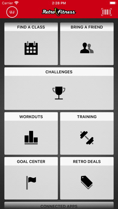 iPad Image of Retro Fitness