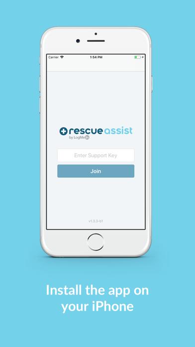 RescueAssist by LogMeIn Screenshot