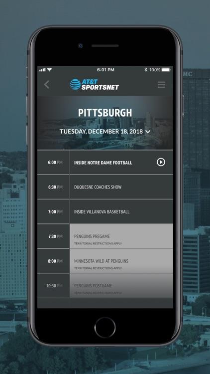 AT&T SportsNet screenshot-3