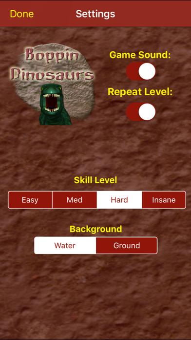 Boppin Dinosaurs screenshot three