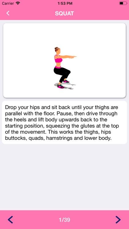 Fitness Workout for Woman screenshot-6