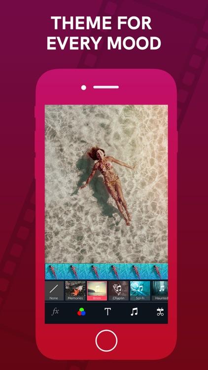 Vizmato: Video Editor & Filter screenshot-4