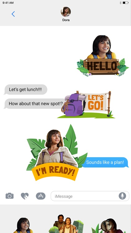 Dora Movie Sticker Pack