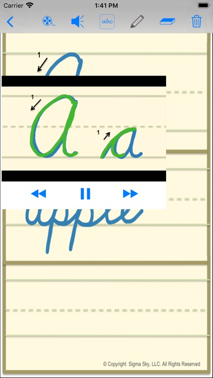 cursive screenshot-4