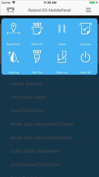 Roland DG Mobile Panel 2 screenshot-3