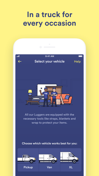 Lugg Moving Amp Delivery App Report On Mobile Action App