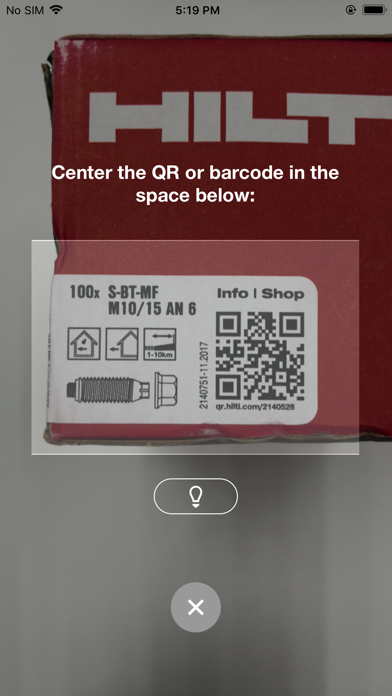 Hilti Mobile AppScreenshot of 3