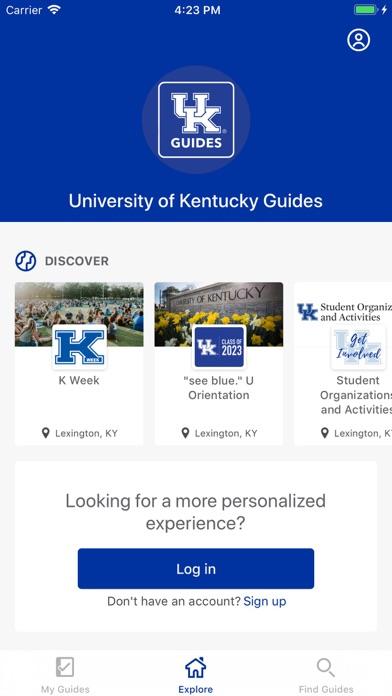University of Kentucky Guides screenshot two