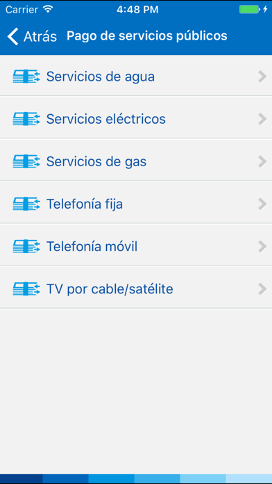 Screenshot for BBVA Perú in Peru App Store