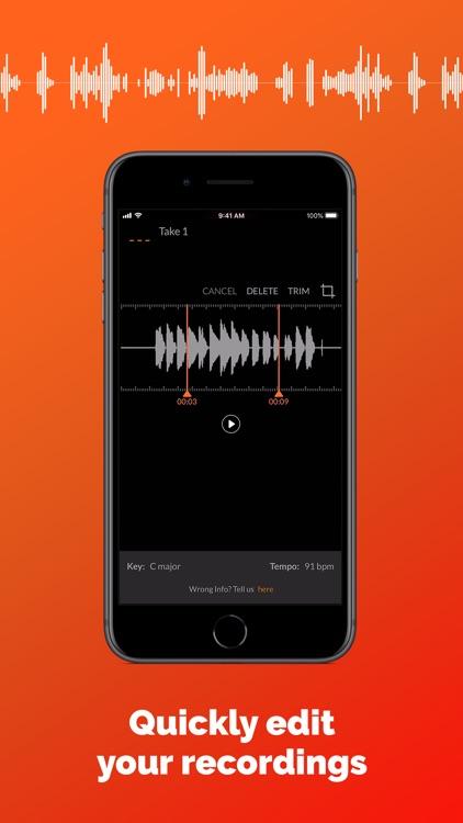 Roadie Music Recorder screenshot-4