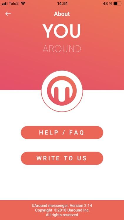 UAround Private & Secure chat screenshot-7