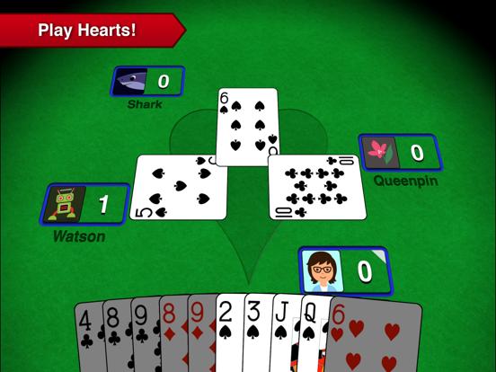 Hearts++ на iPad