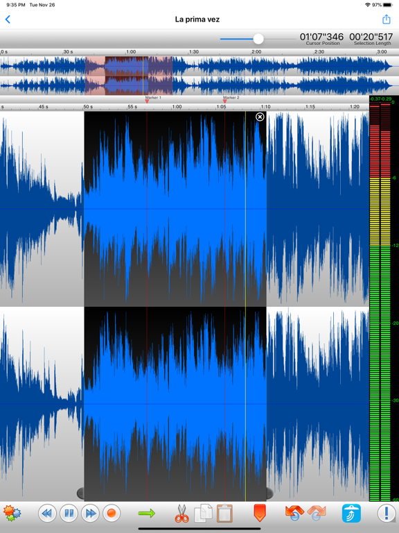 TwistedWave Audio Editor