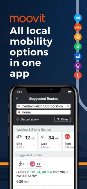 Moovit: Train & Bus Times on the App Store
