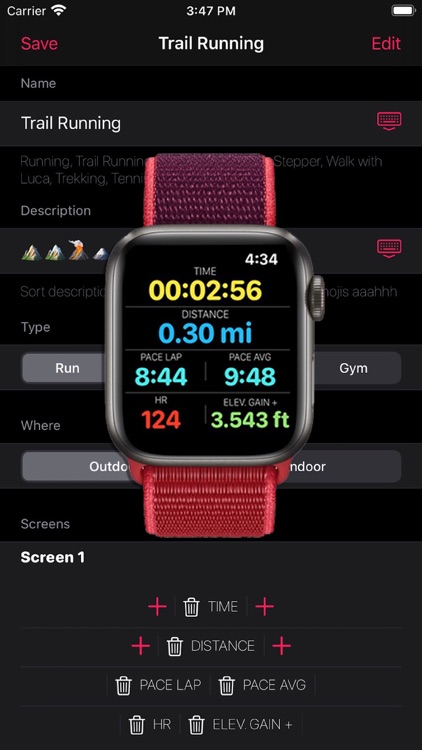 Workout10 - Sport Tracker screenshot-0