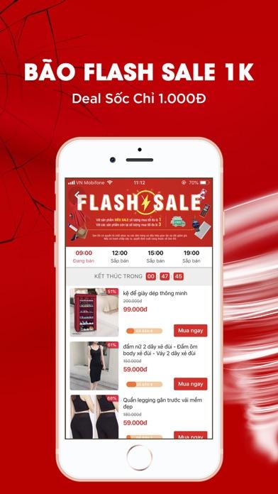 Screenshot for Sendo: Bão Sale Bom Tấn in Viet Nam App Store