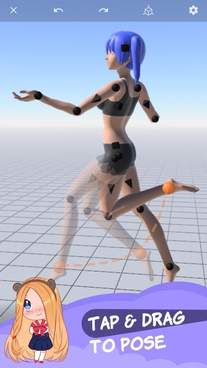 Magic Poser - Art Pose Tool screenshot-0