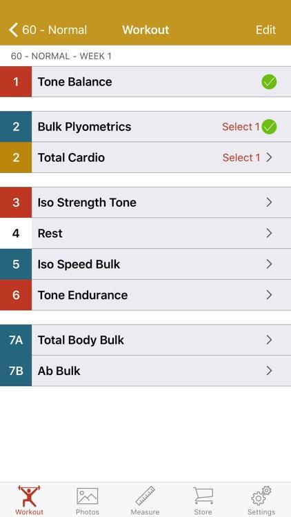 60 Day Workout Tracker More HC screenshot-3