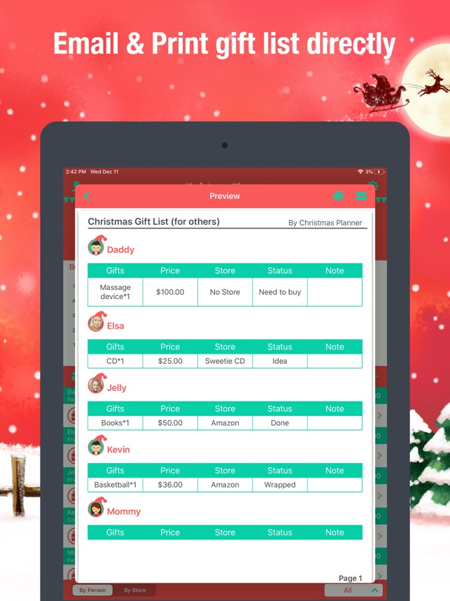 Christmas Planner Pro On The App Store