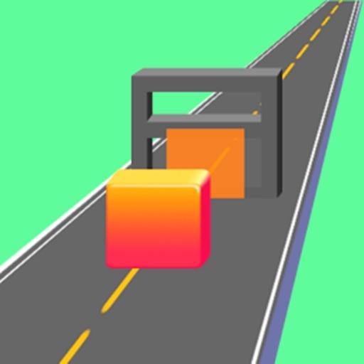 Cube Run Rush Crazy!