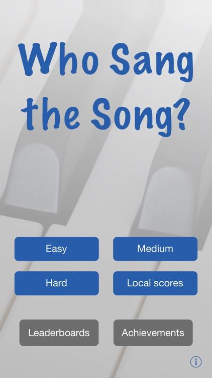 Who Sang the Song? (Swedish)