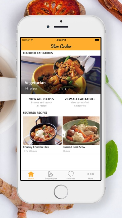 Delicious Slow Cooker Recipes screenshot two