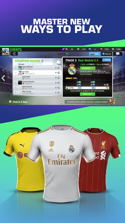 Top Eleven Be a soccer manager screenshot-4