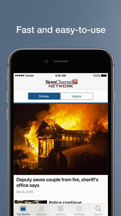 Newschannel 5 Nashville review screenshots