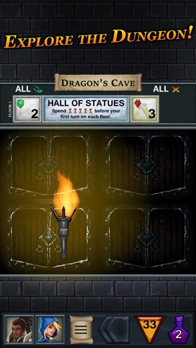 Screenshot One Deck Dungeon